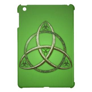 Green Celtic Trinity Knot Case For The iPad Mini