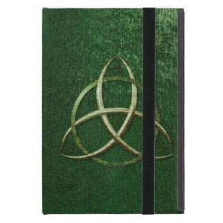 Green Celtic Trinity Knot Case For iPad Mini