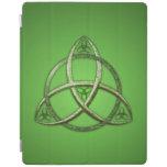 Green Celtic Trinity Knot iPad Smart Cover
