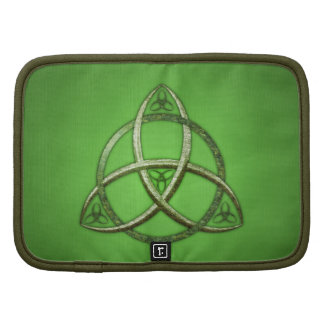 Green Celtic Trinity Knot Planners