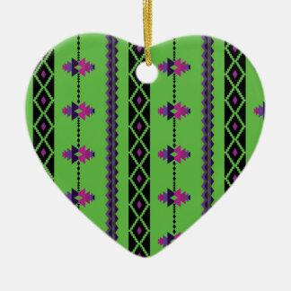 Green Ceramic Ornament