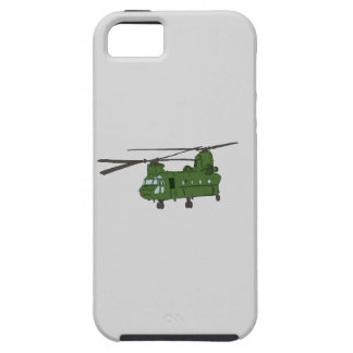 Green CH-47 Chinook Military Helicopter iPhone SE/5/5s Case