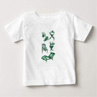 Green chairs baby T-Shirt