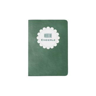 Green Chalkboard Passport Cover Passport Holder