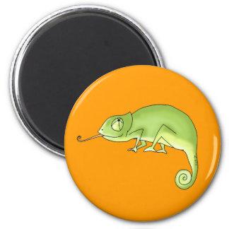 Green chameleon magnet