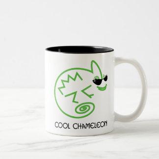 Green Chameleon Mug