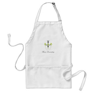 Green Chandelier Adult Apron