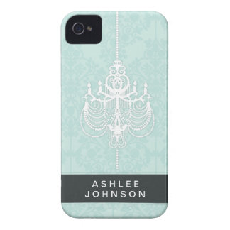 Green Chandelier Barely There™ iPhone 4/4S Cases