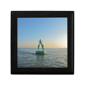 Green Channel Buoy Jewelry Boxes
