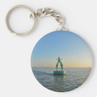 Green Channel Buoy Keychain