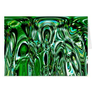 green chaos card
