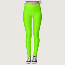 Green Chartreuse Leggings