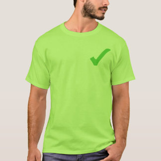 Green Check-Mark T-Shirt