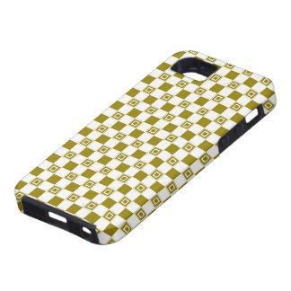 Green Checkered Phone Case