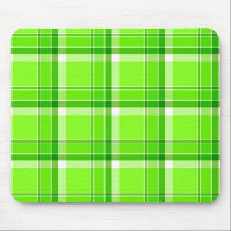 Green checks - Mousepad
