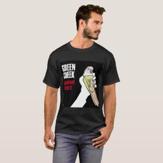 Green Cheek: Avian Idiot (Mint) T-Shirt