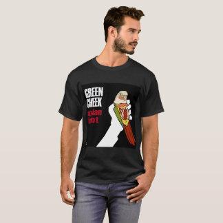 Green Cheek: Avian Idiot (Red Face Pineapple) T-Shirt