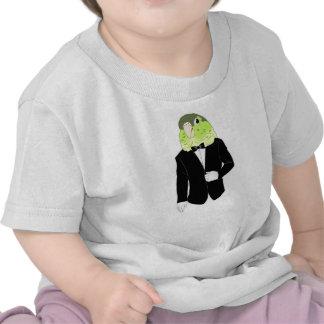 Green Cheek Conure Tuxedo - Toddler s shirt
