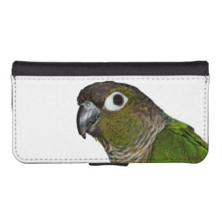 Green Cheeked Conure iPhone SE/5/5s Wallet
