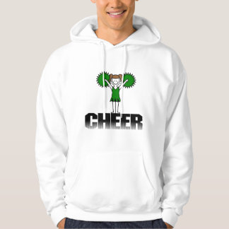 Green Cheerleading T-shirts and Gifts