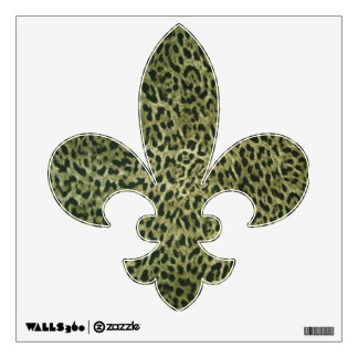 cheetah wall decals amp wall stickers zazzle animal print wall decals larger size leopard by