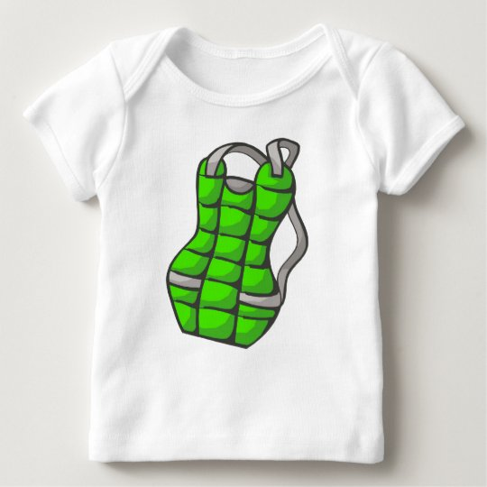 Green Chest Protector Baby T-Shirt