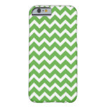 Green Chevron Barely There iPhone 6 Case