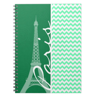 Green Chevron; Paris Note Books