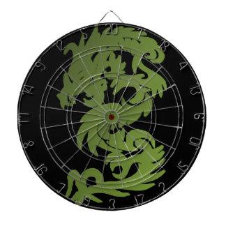 Green Chi Dragon Dartboard