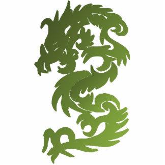 Green Chi Dragon Photo Cut Outs