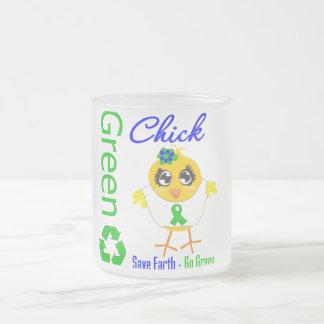 Green Chick Save Earth Go Green Mug
