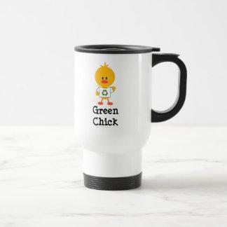 Green Chick Travel Mug