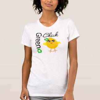 Green Chick Tee Shirt