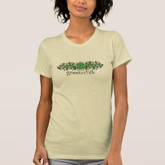 Green Chick Women's T-Shirt