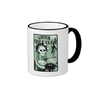 green chile club ringer mug