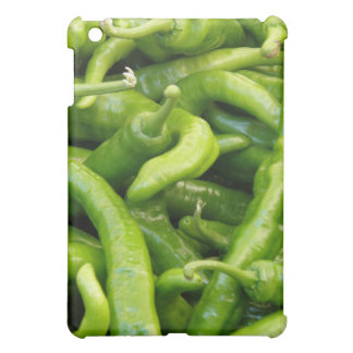 Green Chili Peppers iPad Case