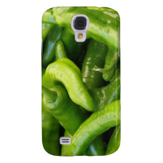 Green Chili Peppers iPhone 3G Case Galaxy S4 Cases