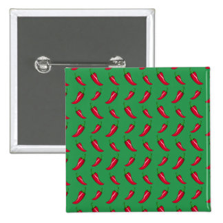 green chili peppers pattern pins