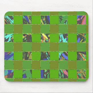 GREEN -  Choice for life on earth Mouse Pad