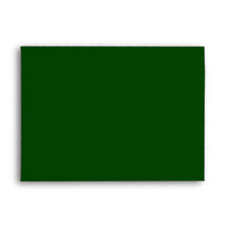 Green Christmas A7 Envelope