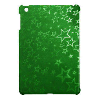 Green Christmas background design iPad Mini Cover