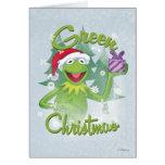 Green Christmas Card at Zazzle