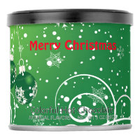 Green Christmas Colorful Hot Chocolate Drink Mix