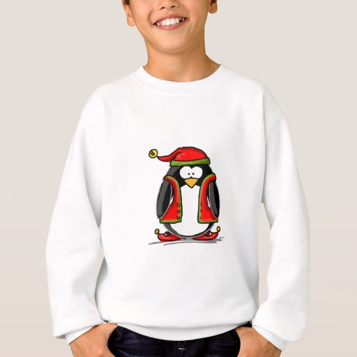 Green Christmas Elf Penguin