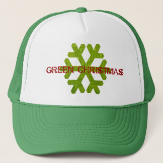 Green Christmas Hat! Trucker Hat