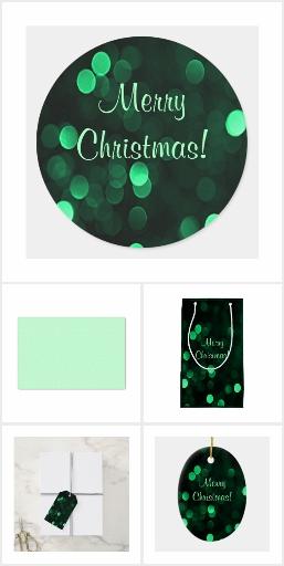 Green Christmas Lights Holiday Decor