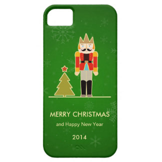 Green Christmas - Nutcracker Holiday Greeting iPhone 5 Covers