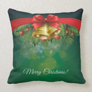 Green christmassy Pillow