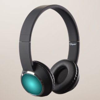 Green Circle Illuminated Design>Headphones Headphones