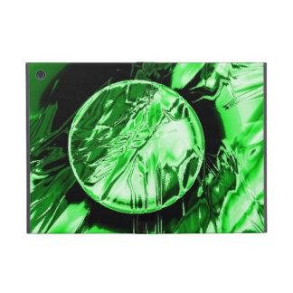 Green Circle Covers For iPad Mini